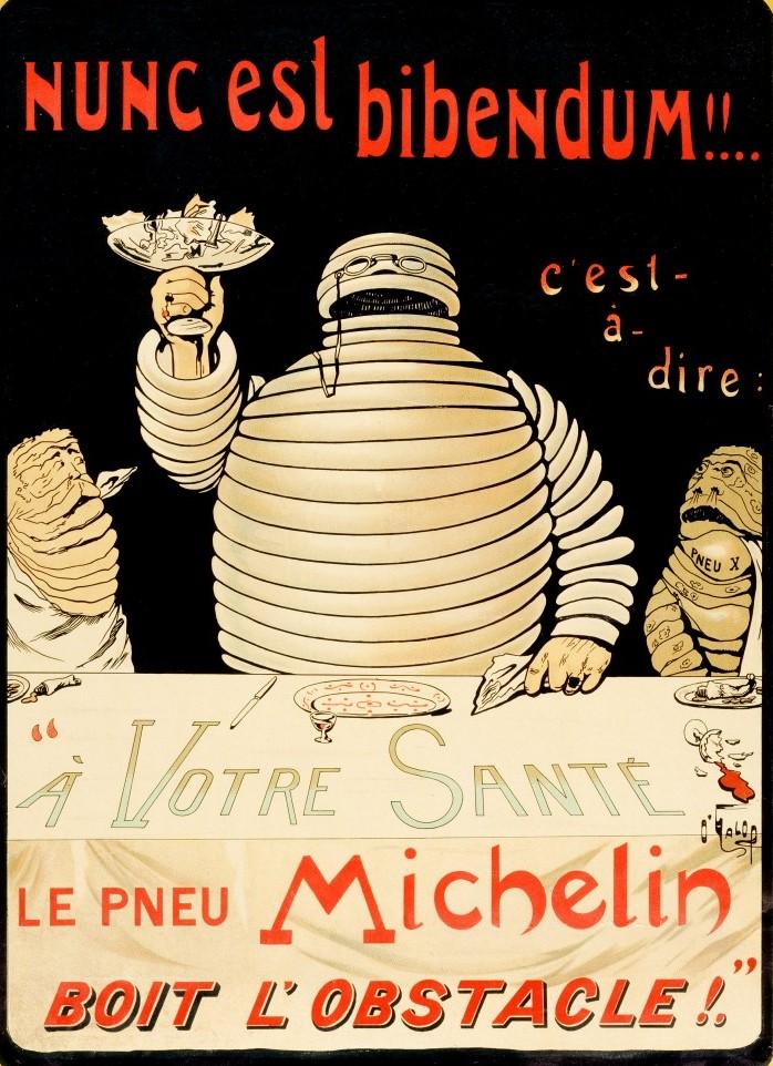 Bibendum - fast so alt wie die Fa. Michelin