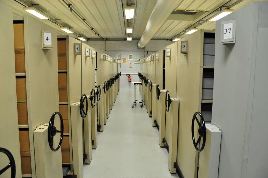 """Archiv """"Centre de Terre Blanche"""" - Innenansicht"""