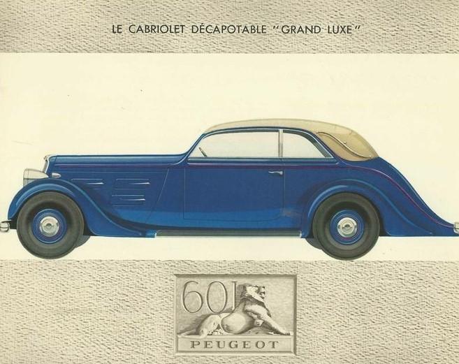 Peugeot 601 Cabriolet