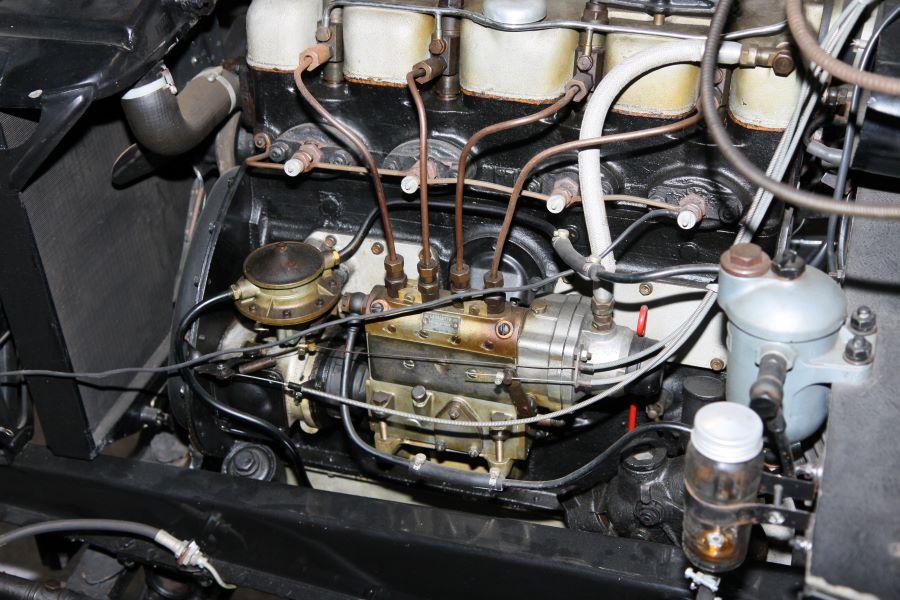 Detailaufnahme des Motors