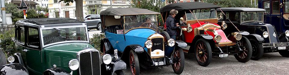 Oldtimerparade mit PEUGEOT 177 b
