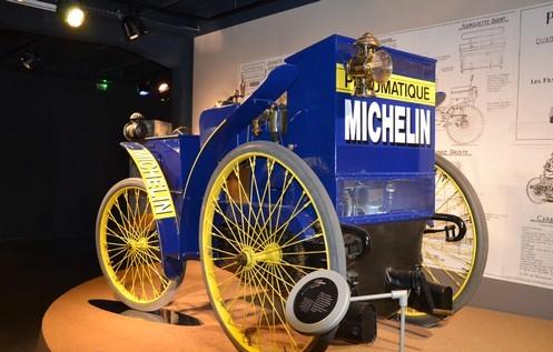 "L'Eclaire - heute zu sehen im Musee ""L'Aventure Michelin"" in Clermont-Ferrant"