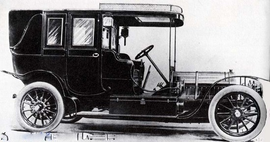 Peugeot Typ 105 - Baujahr 1908