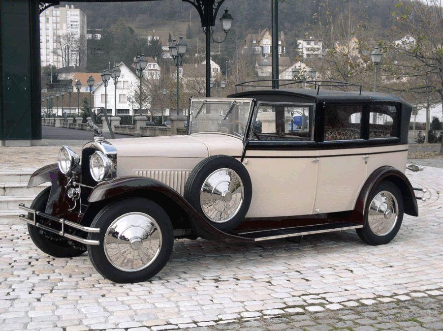 Der einzige heute noch bekannte Typ 184 aus dem Musee Peugeot - karossiert bei Labourdette in Paris