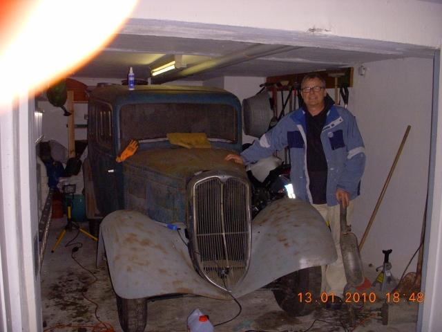 Peugeot 201 vor der Restaurierung