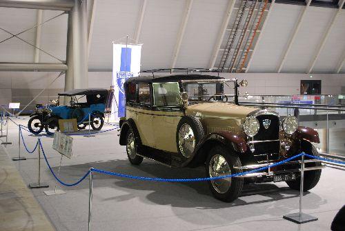 Peugeot Typ 161 Quadrilett, vorn Typ 184 SS
