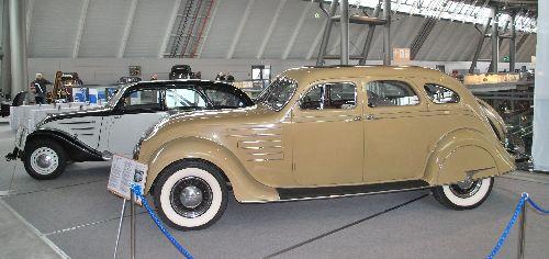Chrysler Airflow + Peugeot 402