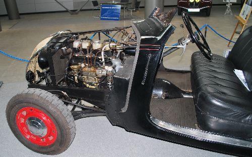Peugeot 402 Fahrgestell mit Dieselmotor aus dem Jahr 1935