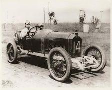Arthur Duray auf dem 3-Liter-Peugeot 1914 in Indianapolis