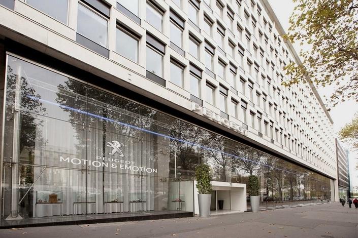 Hauptsitz der PSA – Group an der Avenue de la Grand Armee in Paris