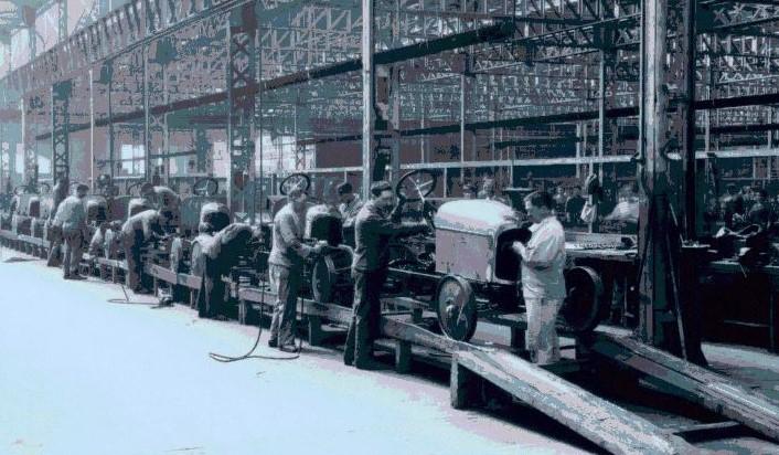 Montage in den 1920er Jahren