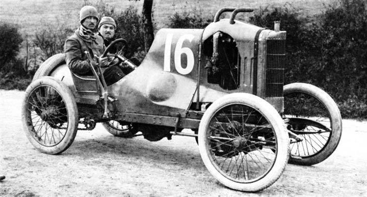 Lion - Peugeot 2,8-Liter Zweizylinder (1910)