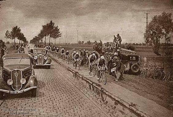 Tour de France: Peugeot 1936