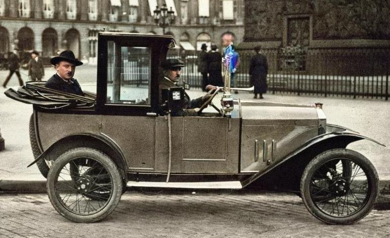 Peugeot Typ 172 - Monoplace Taxi de Paris