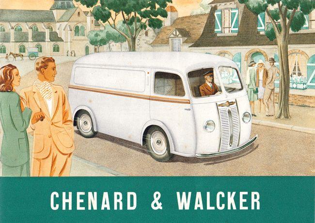 Werbeanzeige Chenard & Walcker
