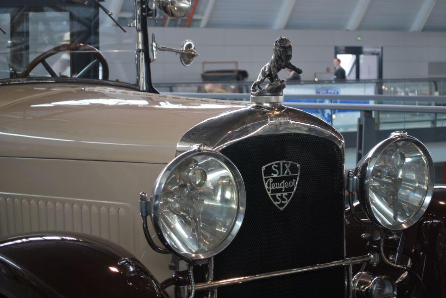 Peugeot Typ 184 - Frontpartie