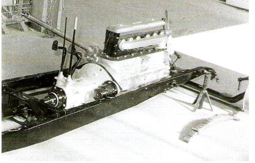 Peugeot Typ 184 - Motor