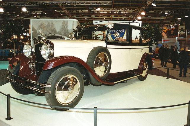 Erstmals der Öffentlichkeit gezeigt wurde der restaurierte Peugeot Typ 184 auf der Retromobil 2008 in Paris.
