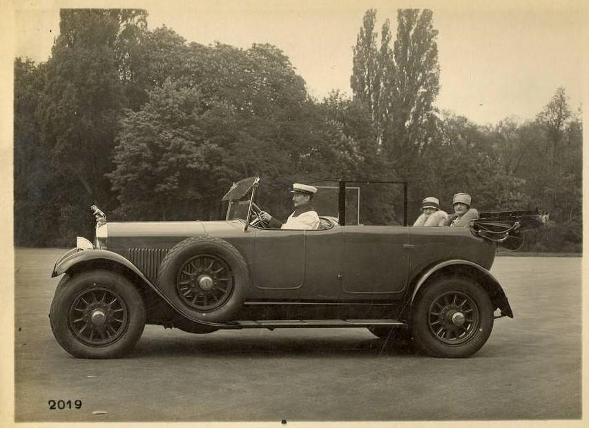 Peugeot Typ 184 als Cabriolet