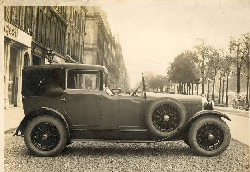 """Peugeot Typ 184 als """"Coupe de Ville"""""""