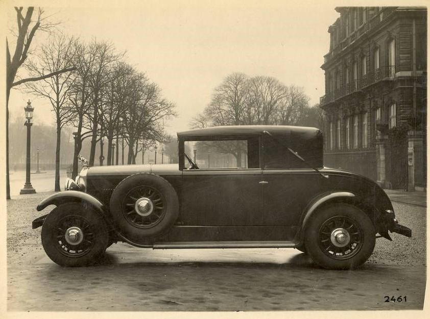 Peugeot Typ 184 als Faux-Cabriolet