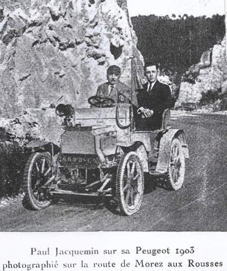 Peugeot Typ 37, Baujahr 1903