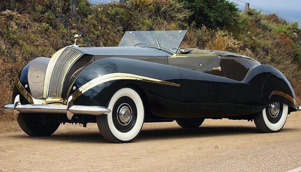 Umbau auf Basis eines 1939er Rolls-Royce Phantom III - Cabrio