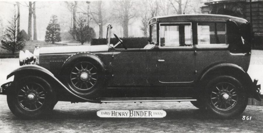 Peugeot Typ 184 - Carosserie Binder