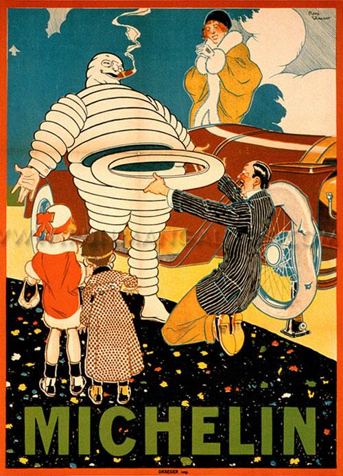 Werbeplakat Michelin