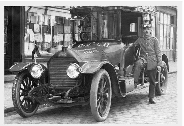 Peugeot Type 146; Originalfoto aus Sammlung Michael Schlenger