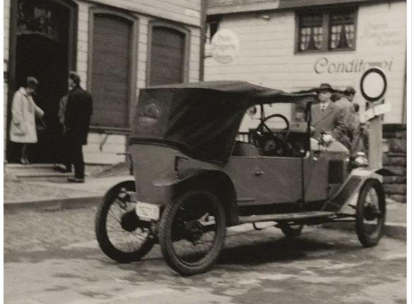 """Peugeot 161 """"Quadrilette"""", Originalfoto aus Sammlung Michael Schlenger"""