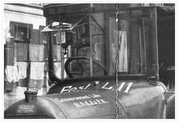Detail Peugeot Type 146; Originalfoto aus Sammlung Michael Schlenger