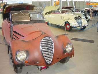 """Peugeot 402 Eclipse – Karosserie """"E4"""", Zweisitzer genannt """"Nautilus""""  Fahrgestellnummer 601524 / Karosserienummer 58"""