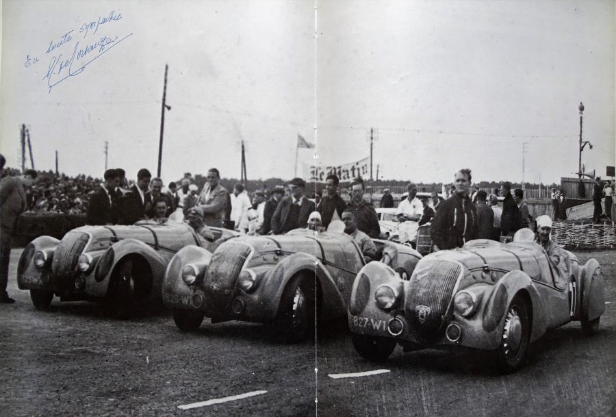 Die drei im Jahr 1937 startenden 302 - DarlMat