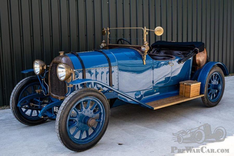 "Peugeot Typ 153 ""Sporttourer"" vom 1914"