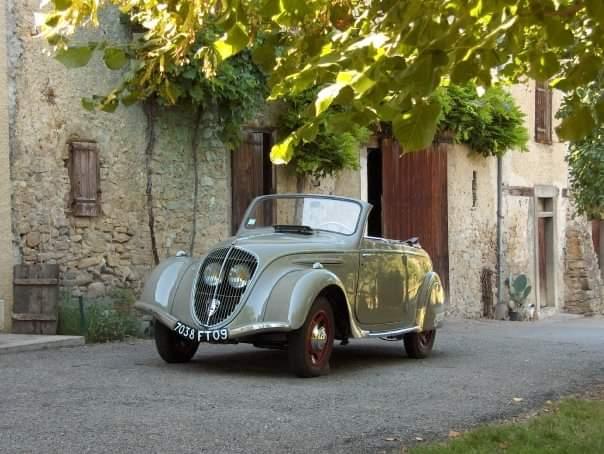 Peugeot 202 Cabrio (D2) - Frontansicht