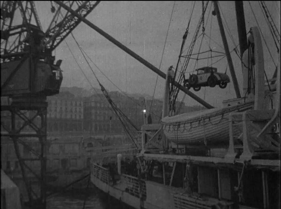 Die Einschiffung in Marseille