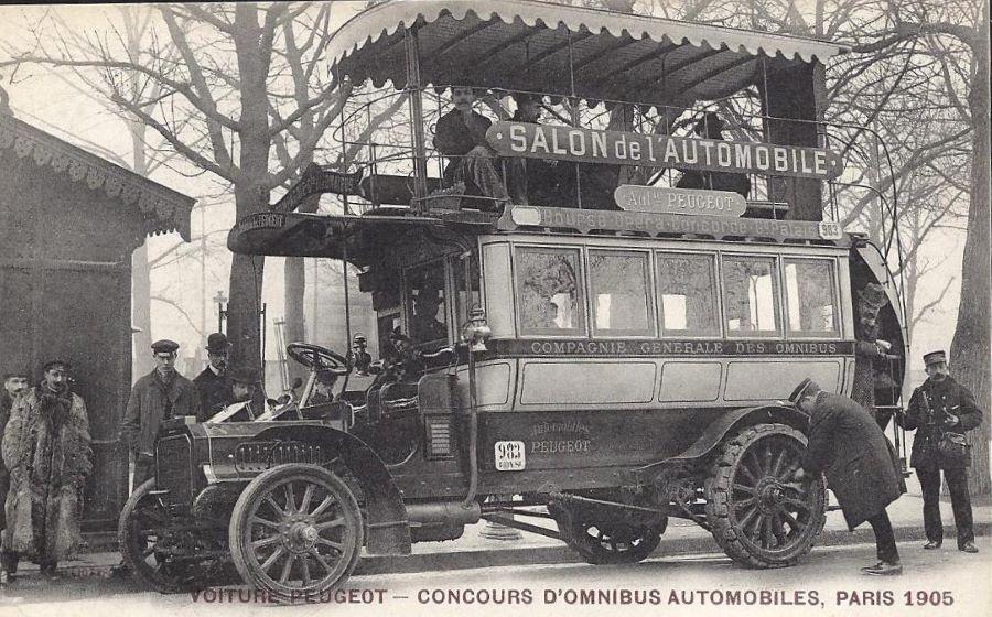Peugeot Typ 64 als Doppeldeckerbus