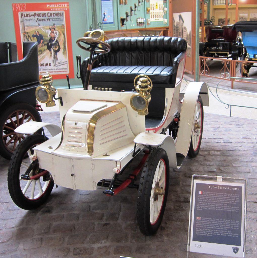 Peugeot Typ 36 als 2-Sitzer