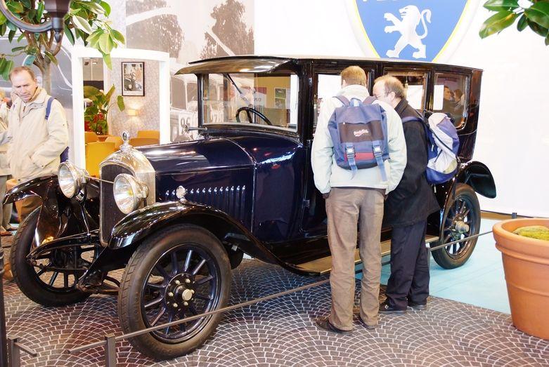Peugeot Tyo 153 BRA aus den 1920er Jahren im Musee Peugeot