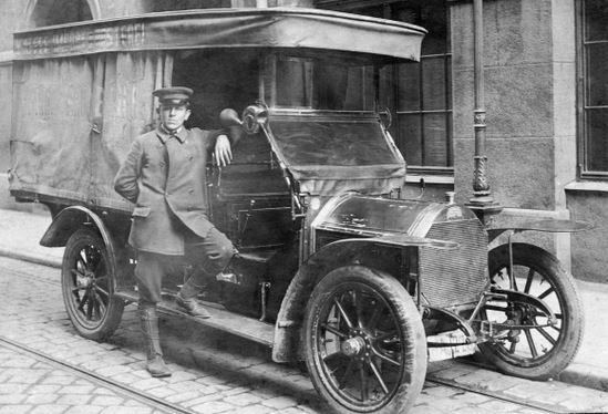 Peugeot 120 oder 122; Originalfoto aus Sammlung Michael Schlenger