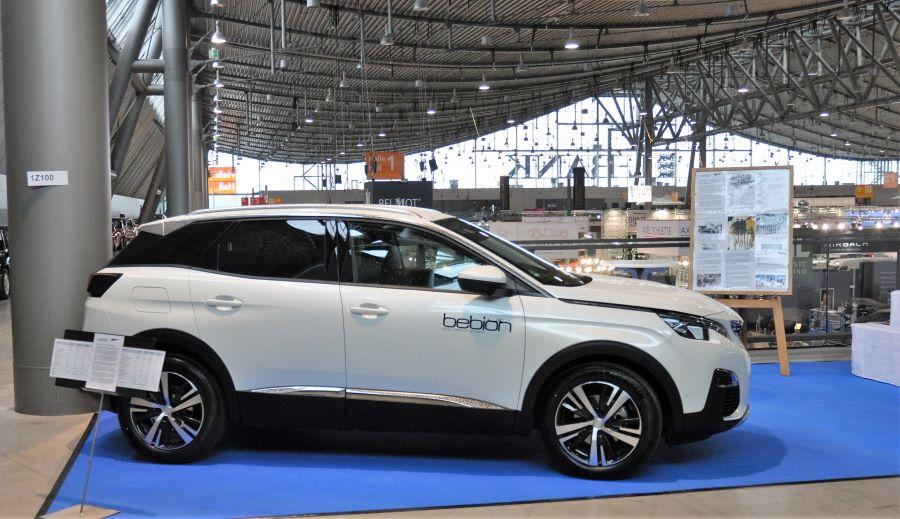 Der von Peugeot Bebion zur Verfügung gestellte Neuwagen Typ 5008