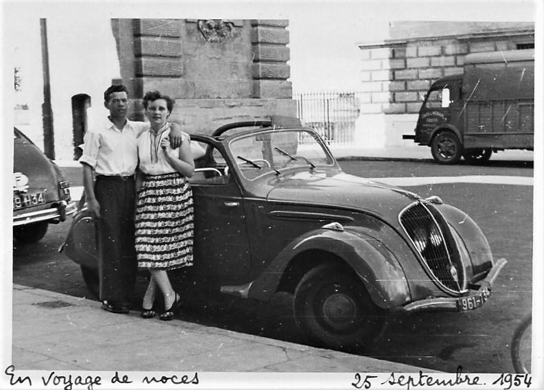 Peugeot 202 Cabriolimousine