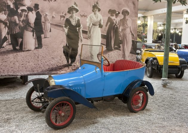 Peugeot Bebe in der Collelction Schlumpf in Mulhouse
