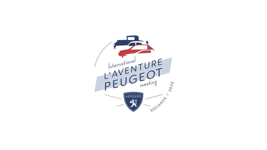"Logo ""International L'Aventure  Peugeot Meeting 2020"""