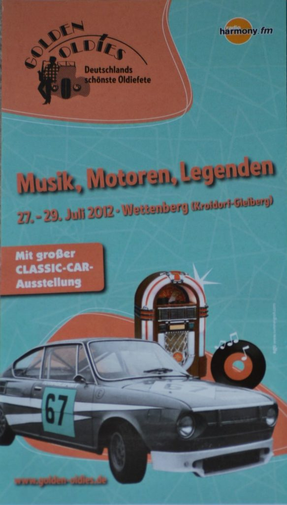 Plakat Golden Oldies Wettenberg