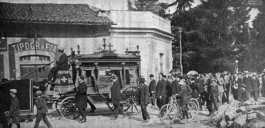 Beerdigung Giosuè Giuppone