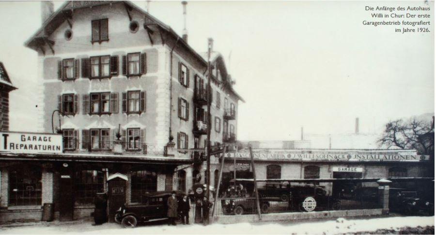 90 Jahre Autohaus Willi in Chur