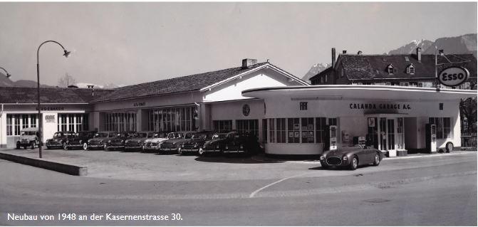 Der 1948 neu erbauet Betrieb