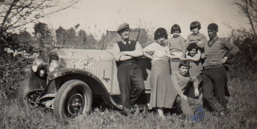 Ausflug ins Grüne mit den Typ 163 - Mitte 1920er